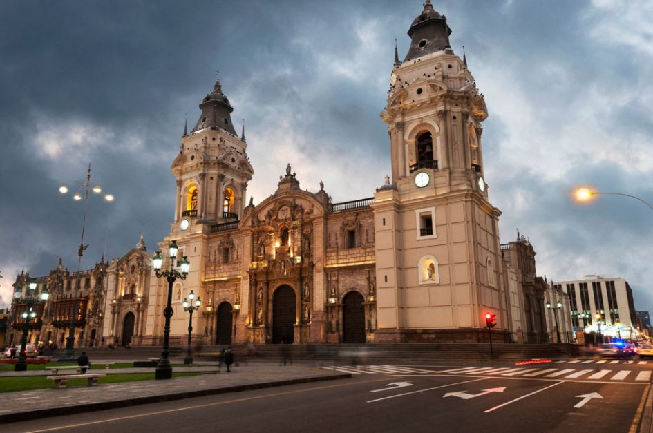Photo of Lima cathedral