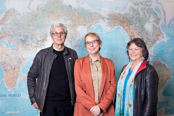Dr Simon Ryan, Associate Professor Jacqui Leckie and Dr Heather Devere. Photo: Sharron Bennett